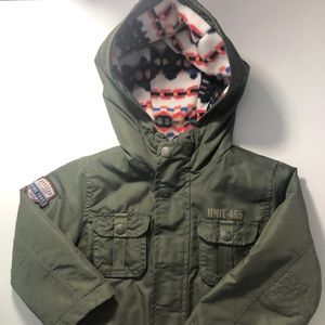 "Carter's ""American Trail"" Green Winter Hiking Coat"